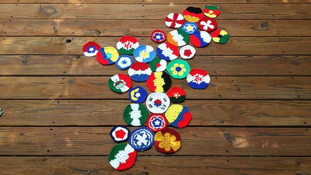 crochet hexagons crochet pentagons