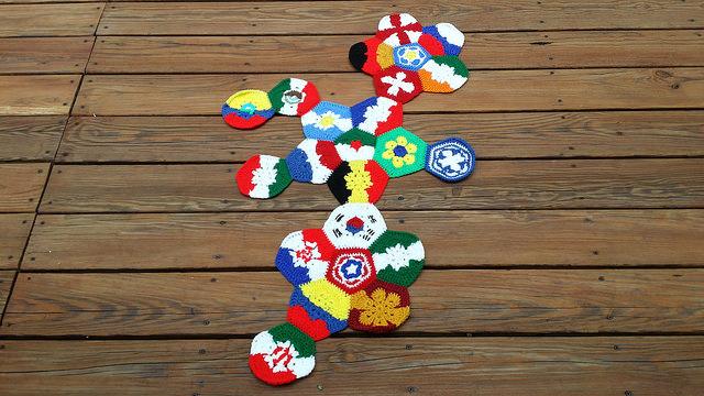future crochet soccer ball