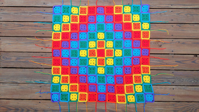 eighty ends to weave in