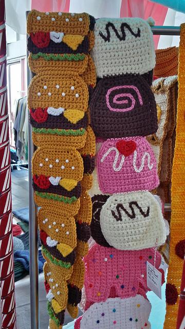 twinkie chan crochet scarves