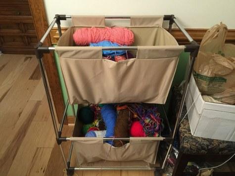 Yarn in need of organizing