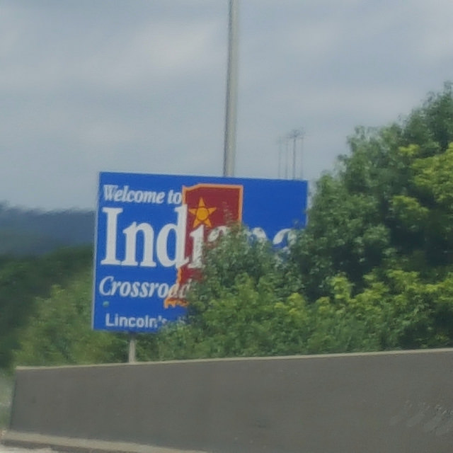 Indiana state line