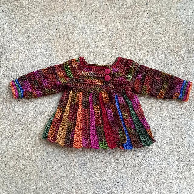 scooby doo crochet baby sweater