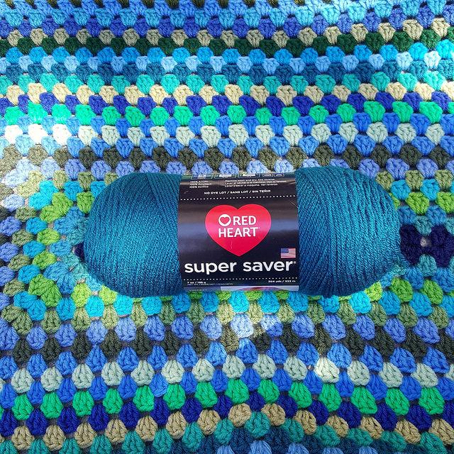 real teal yarn