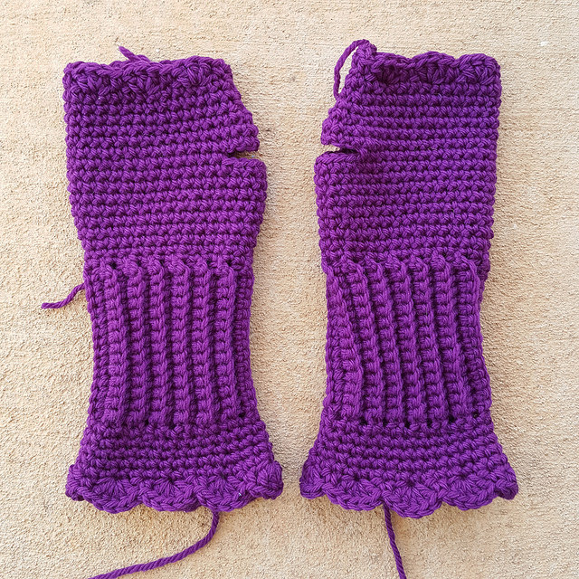 Victorian Texting Gloves Archives Crochetbug