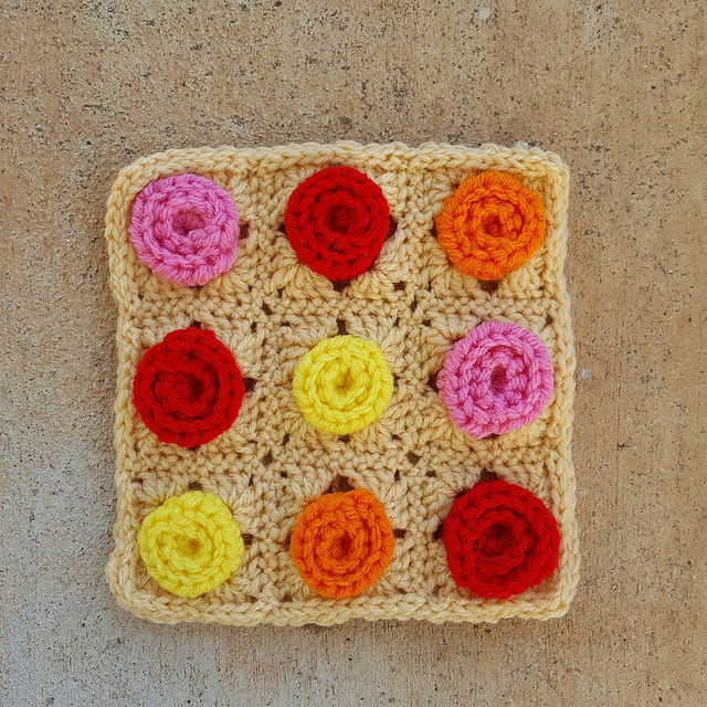 Crochet Granny Square Archives Crochetbug