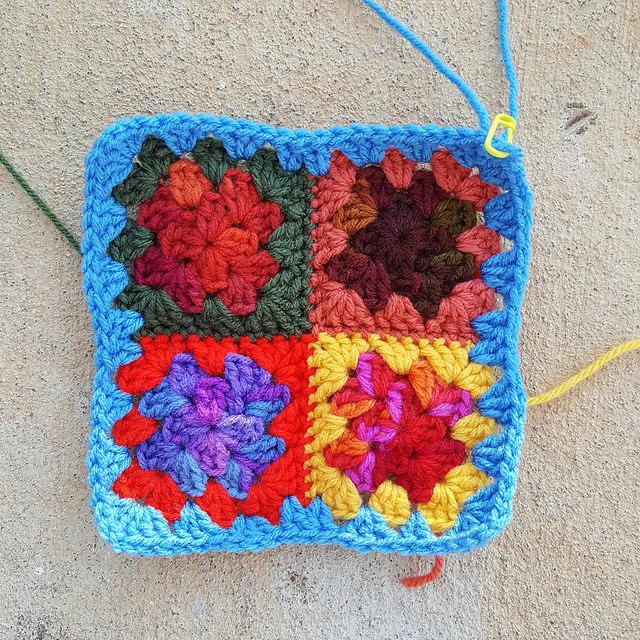 crochetbug, crochet, crochet afghan, crochet squares, 101 crochet squares, jean leinhauser, project amigo, crochet afghan, crochet blanket, crochet throw, crochet flower,