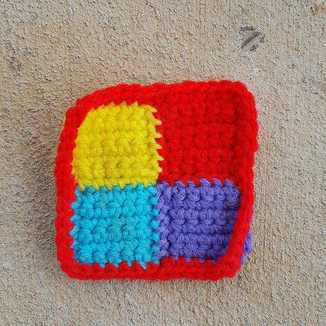 A Trio Of Rehabbed Crochet Squares Crochetbug
