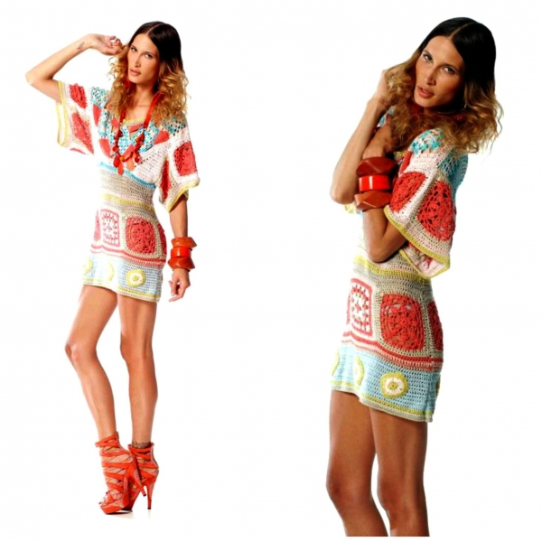 fair trade crochet dress