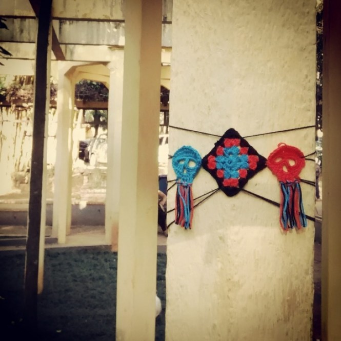historic yarnbombing leandro