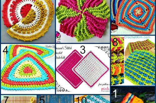 Crochet Dishcloth & Washcloth Patterns