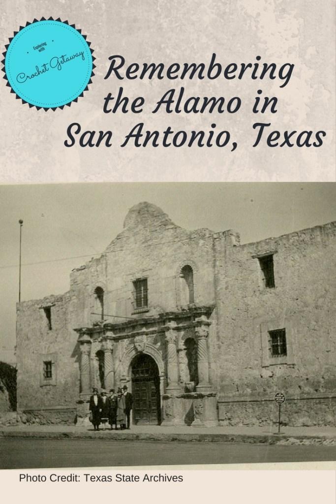 San Antonio Alamo Mission Building Texas