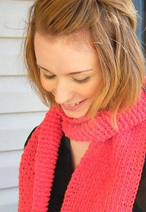 CrochetKim Free Crochet Pattern | Monroe Scarf