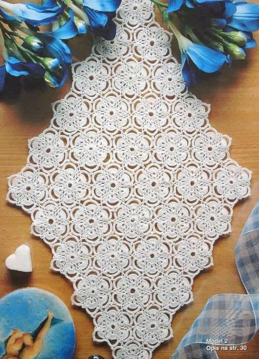 Crochet Table Runner ⋆ Crochet Kingdom 10 Free Crochet