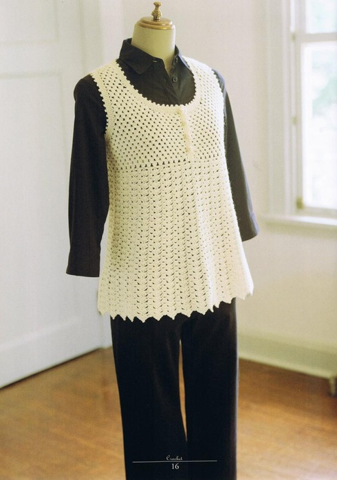 Pretty Crochet Vest Pattern For Women Crochet Kingdom