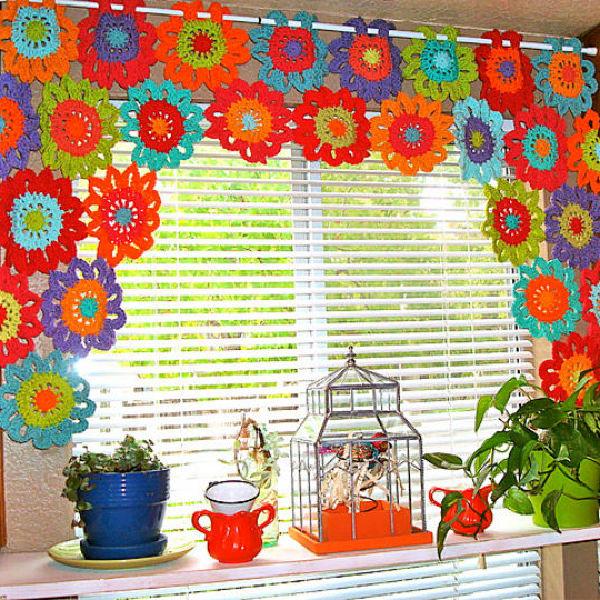 10 free crochet valance pattern