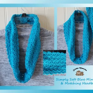 Crochet Cowl & Matching Headband Set