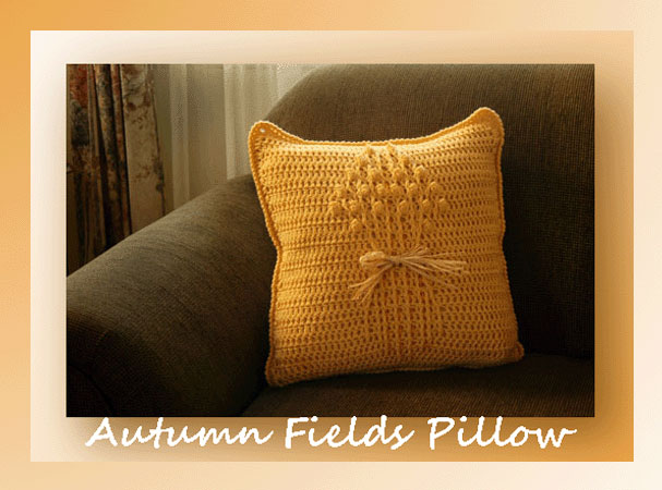 Autumn Fields Pillow