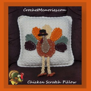 Chicken Scratch Pillow