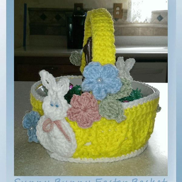 Sunny Bunny Easter Basket