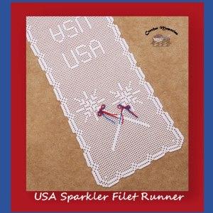USA Sparkler Filet Runner