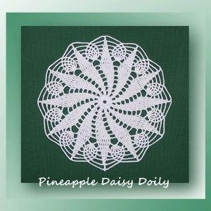 Pineapple Daisy Doily
