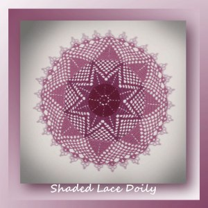 Shaded Lace Doily
