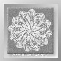 Pinwheel Sparkler Doily