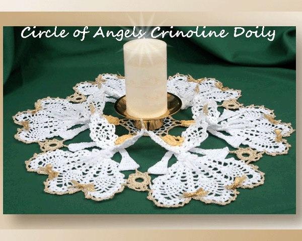 Circle of Angels Crinoline Doily