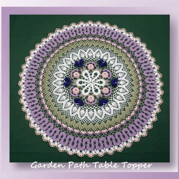 Garden Path Table Topper