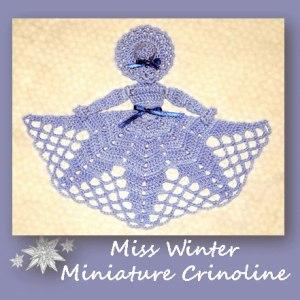 Miss Winter Miniature Crinoline