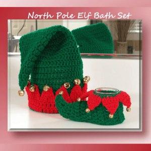North Pole Elf Bath Set