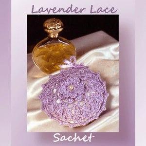 Lavender Lace Sachet