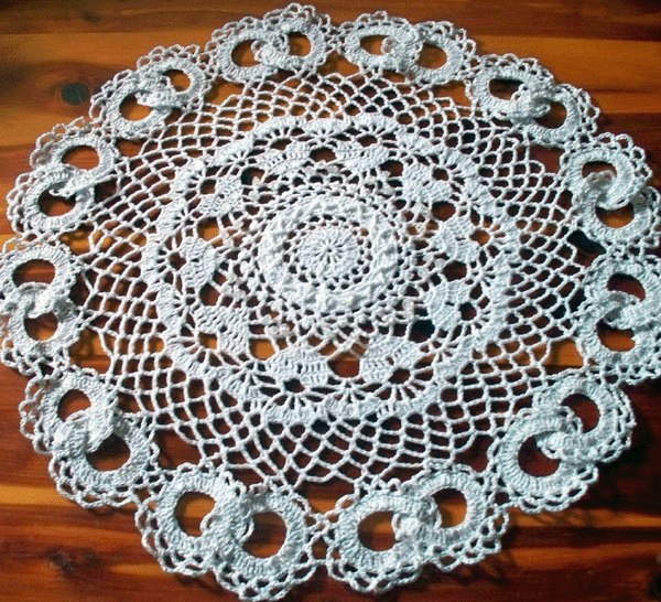 Wedding Lace Doily (photo courtesy of Sherrie Ziegler)