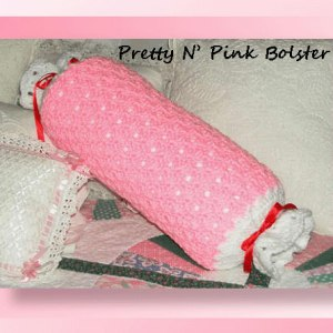 Pretty N' Pink Bolster