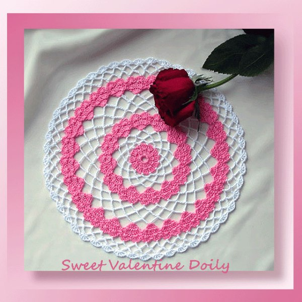 Sweet Valentine Doily