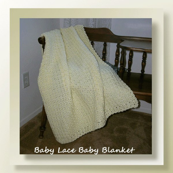 Baby Lace Baby Blanket