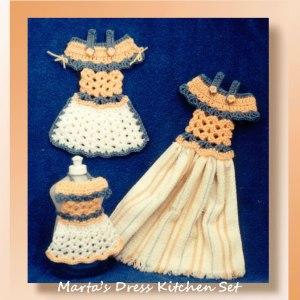 Marta's Dress Kitchen Set