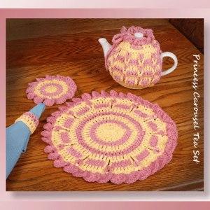 Princess Carousel Tea Set