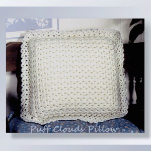 Puff Clouds Pillow