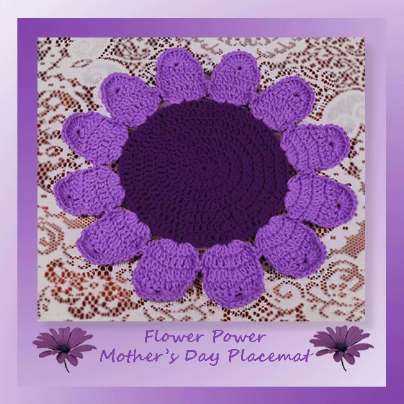 Flower Power Mother's Day Placemat