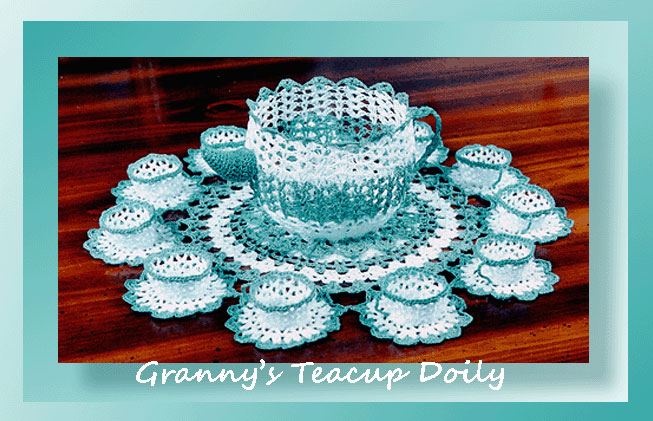 Granny U2019s Teacup Doily - Crochet Doily Patterns