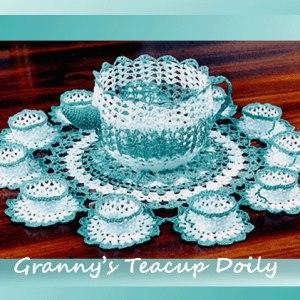 Granny's Teacup Doily