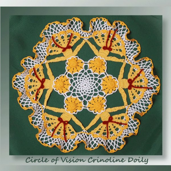 Circle of Vision Crinoline Doily