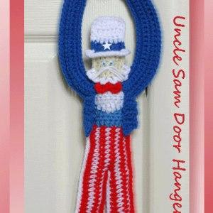 Uncle Sam Door Hanger
