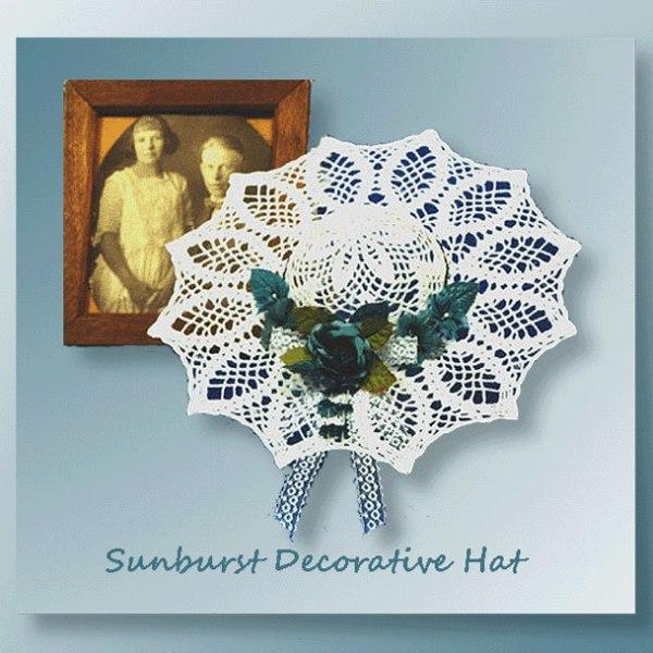 Sunburst Decorative Hat