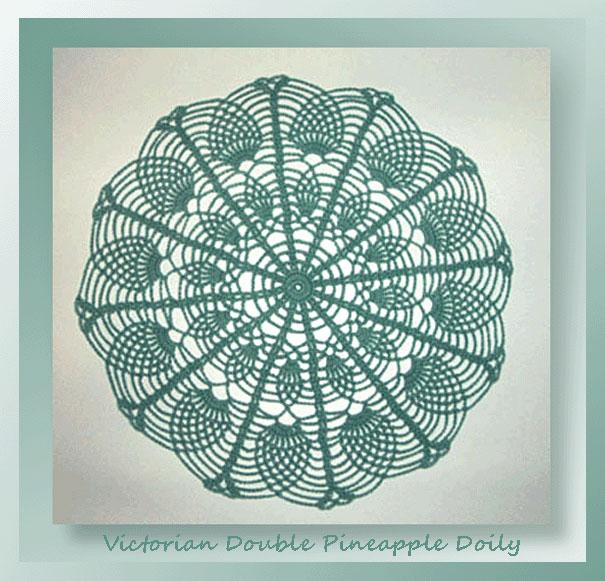 Victorian Double Pineapple Doily 495 Crochet Memories