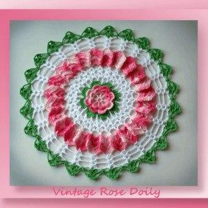 vintage-rose-doily
