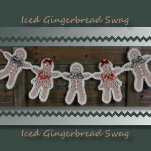 Iced Gingerbread Swag