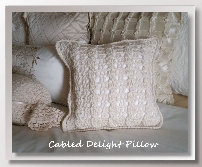 Cable Delight Pillow